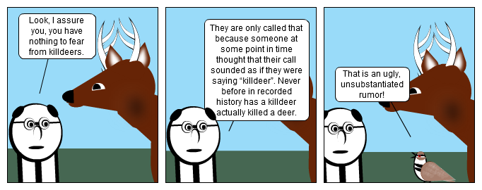 Just To Be Clear, Deer...