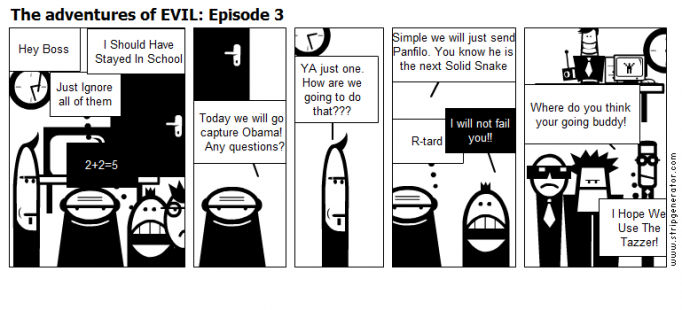The adventures of EVIL: Episode 3