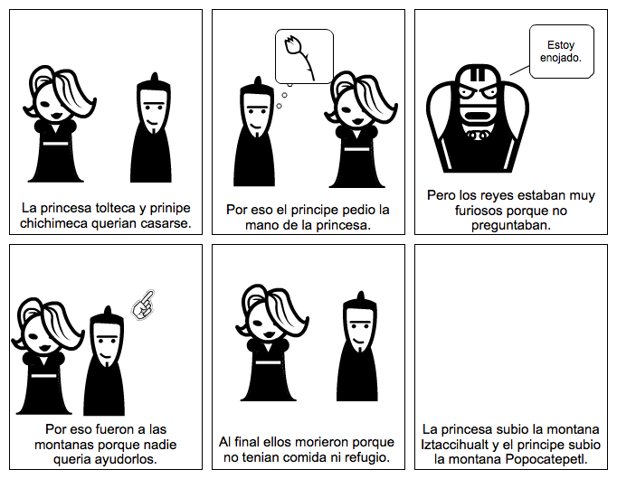 La Leyenda del Iztaccihualt y el Popocatepetl