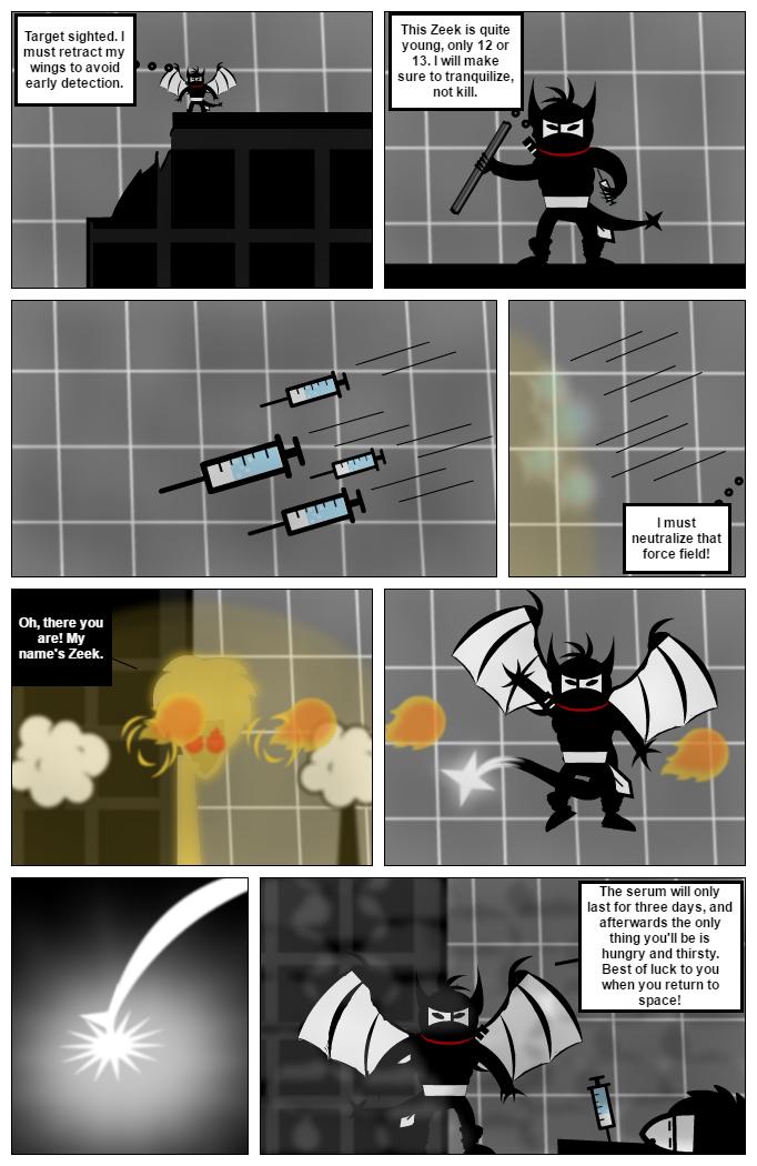 Ninja Craig Vs Zeek
