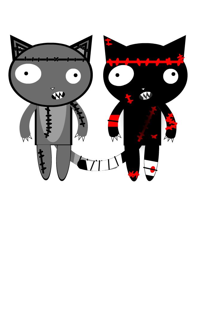Zombie kityZ!