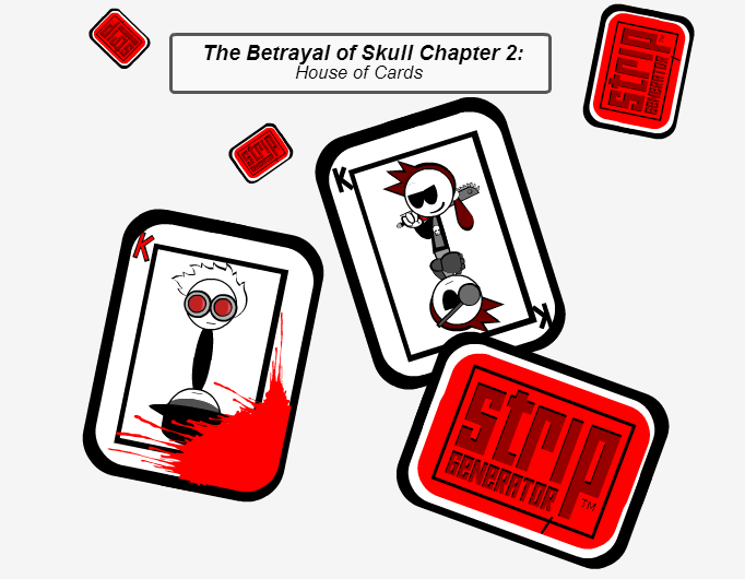 The Betreyal of Skull chapter 2 cover
