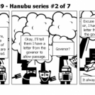 Elevator Comic # 89 - Hanubu series #2 of 7