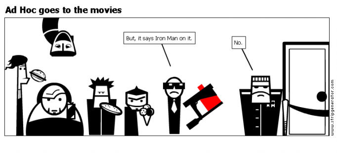 Ad Hoc goes to the movies
