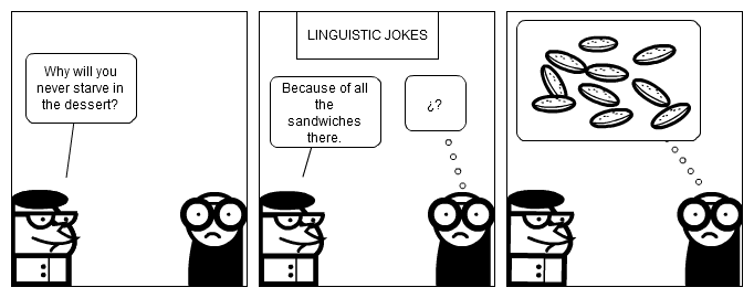 LINGUISTIC JOKES