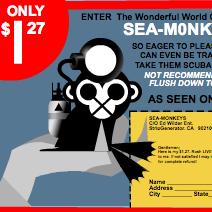 LIVE Sea-Monkeys