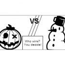Ultimate battle #7 : Halloween vs Christmas