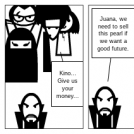 U2L5 The Pearl Conflict Comic Strip