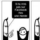si t'es pas sur les réseaux sociaux