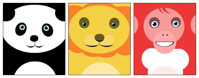 3 animals 1