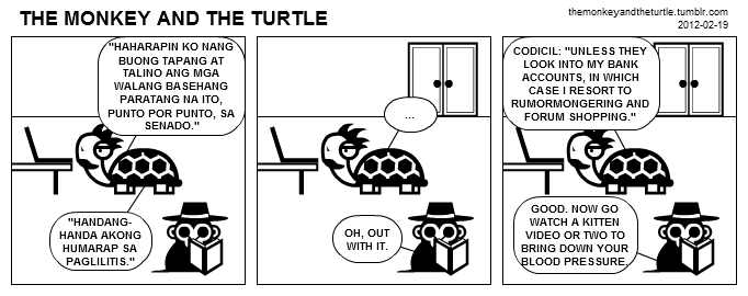 The Monkey and the Turtle (2012-02-19)