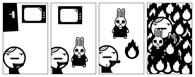 un mort