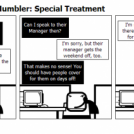 The Tech Support Mumbler: Special Treatment