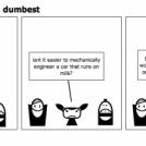 The dumb, dumber, dumbest