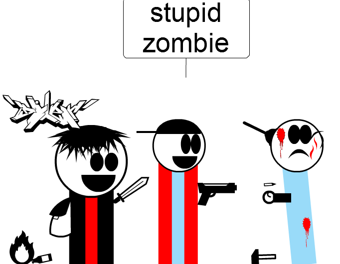 im gona make ZOMBIE comics