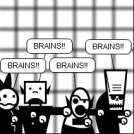 Zombies Search For Brains