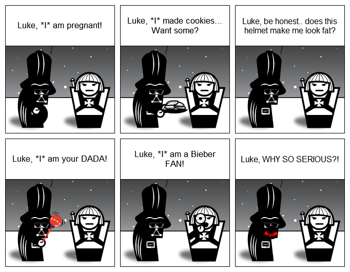 Luke, *I* am your father! - variations No.2