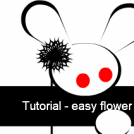 Fast tutorial - easy flower