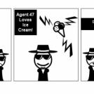 Agent 47's Ice Cream