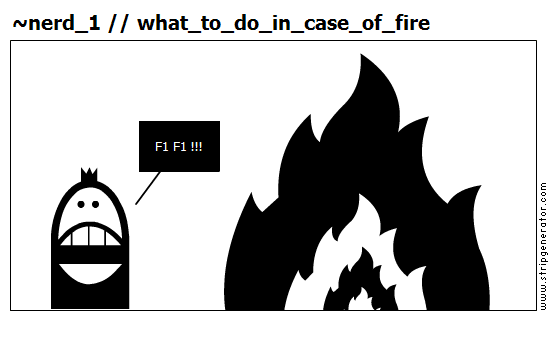 ~nerd_1 // what_to_do_in_case_of_fire