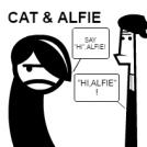 CAT & ALFIE-by Mauro Torres