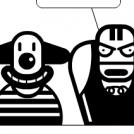 Clown & Wrestler