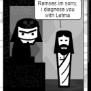 King Ramses and Jesus