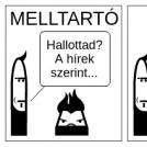 Melltartó