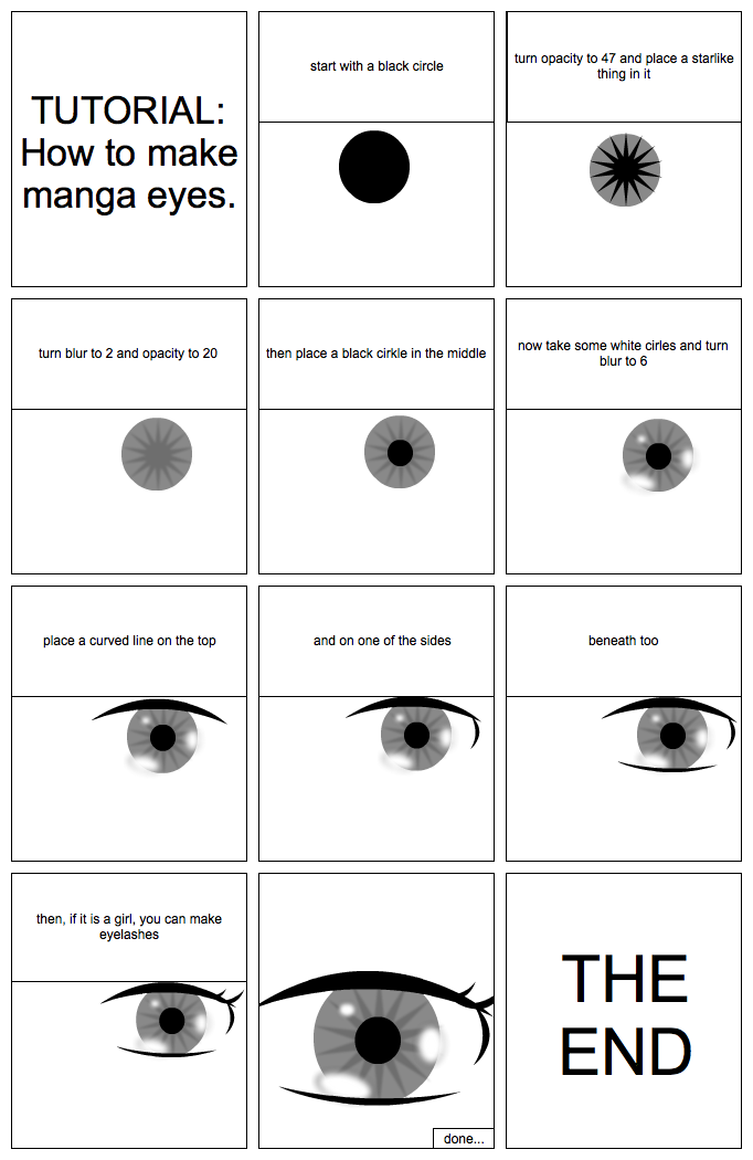 TUTORIAL: manga eyes