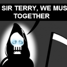 Terry Pratchett is dead T_T