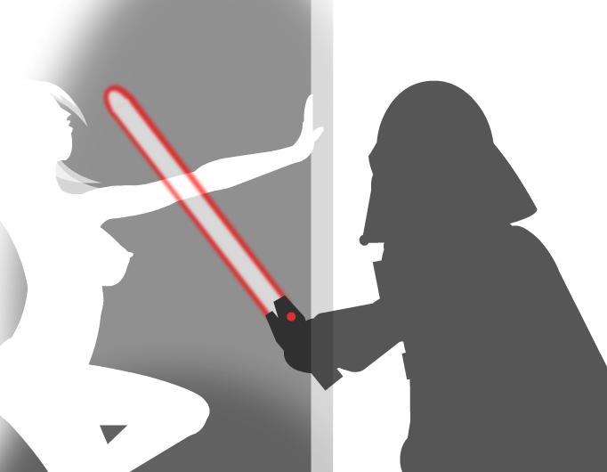 Chibi Vader Vs For His Pleasure... (Remix)