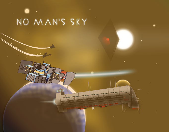 No Man's Sky - Space scene