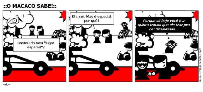 ::O MACACO SABE!::