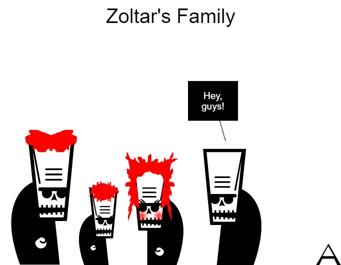 Zoltar's Family