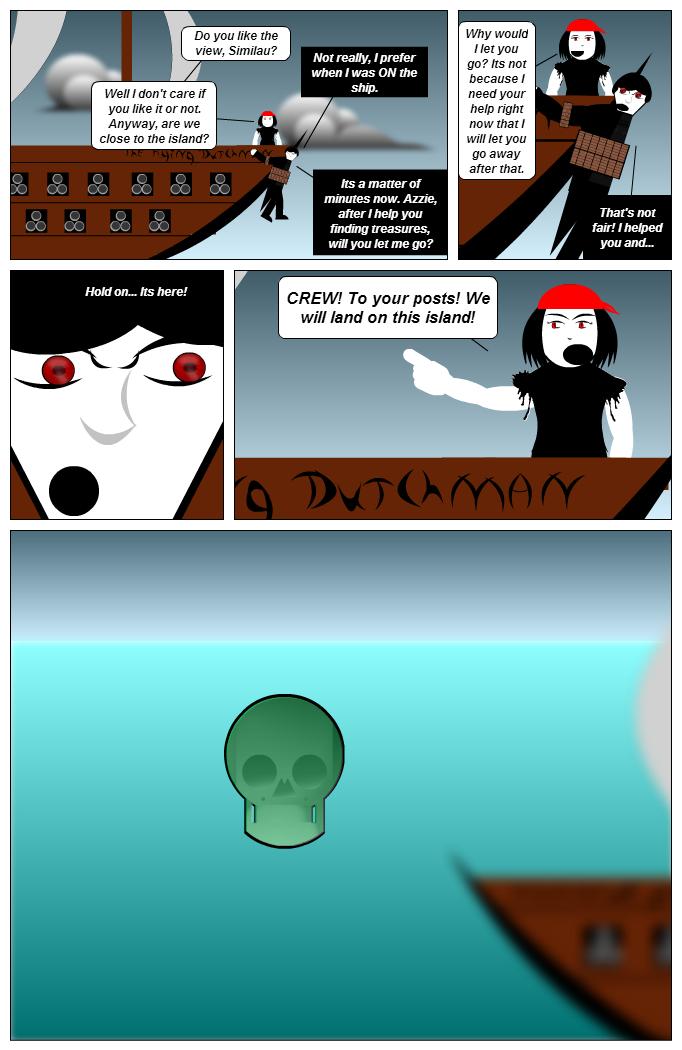 Aqua-Man: Reaching the Island