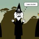 Two clerics