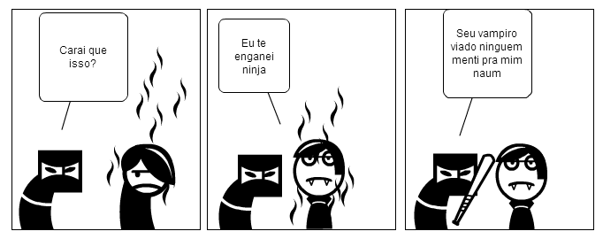 O ninja e o demonio - parte 03