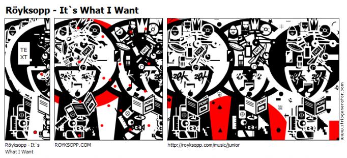 Röyksopp - It`s What I Want