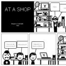 At a shop