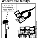 Where's the family?