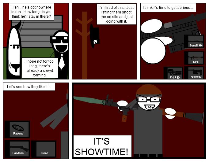It's Showtime!  Part 1
