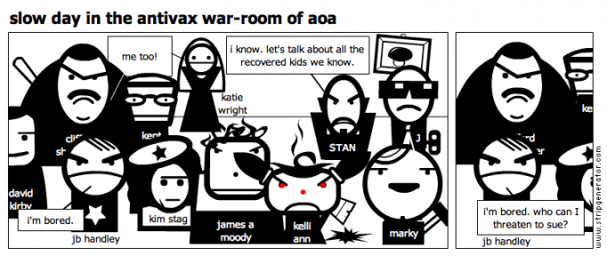 slow day in the antivax war-room of aoa
