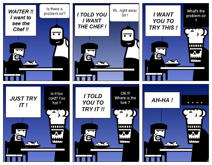 Restaurant Problem !