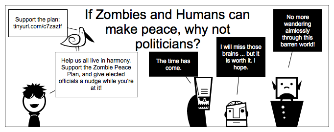 Digital Writing Month: Zombie Peace Plan