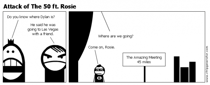 Attack of The 50 ft. Rosie