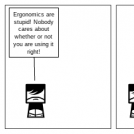 Ergonomics Comic Strip