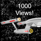 Star Trek strip 1000 views