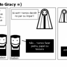Gracy em... momento Gracy =)