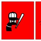 Ninja Baseball Home Run