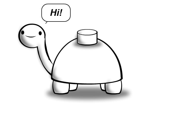Mine Turtle - Hi!